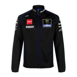 Official 2021 Yamaha MotoGP Factory Racing Black Men's Sweater Jacket