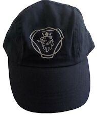 Genuine Scania Logo Dark Nav Blue Truck Baseball Cap Hat One Size Men's Mens New