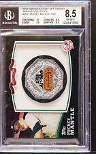 2010 Topps factory set Mickey Mantle MVP patch bgs 8.5