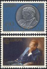 JUGOSLAVIA 1980 EUROPA/Tito/MONETA/medaglia/Gente famosa/POLITICA 2 V Set (n21707)