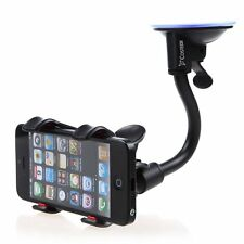 Soft Tube Universal Car Windshield Suction Mount Clip Holder GPS Bracket