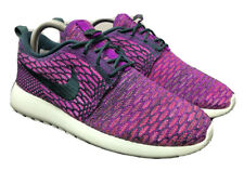 Nike Running Roshe One Flyknit Athletic Shoes 704927-302 Womens Size 7.5