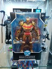 "Mcfarlane DC Multiverse Batman: Gold Edition Hellbat 7"" NEW MOC"