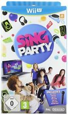 Wii u Sing Party incl. micrófono celebración Song Contest bailar probando tus diapasón!