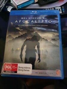 Mel Gibson Apocalypto Blu-Ray - Free post bluray blu ray good condition