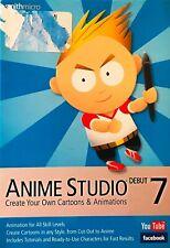 Smith Micro Anime Studio Debut 7 Windows Cartoon & Animation Video Software