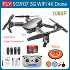 Foldable SG907 4K 1080P 5G Camera Drone WiFi GPS FPV Dual Cam Quadcopter Bag/Box