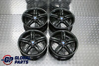 "BMW 1 Series E81 E87 Grey Complete Set 4x Wheel Alloy Rim 18"" M double Spoke 208"
