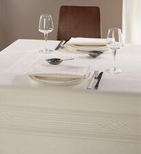 Tafeltuch FUGA Curt Bauer - Damast-Tischtuch Tischdecke, 130x170 cm, porzellan