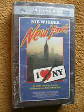 VHS Video Kassette Nie Wieder New York Da Bleibt Kein Auge Trocken Neu OVP