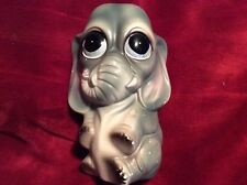 "Vintage Marked Japan RETRO Baby Elephant Bank 60's 70's 7"" Piggy bank"