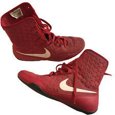 Nike Ko Boxing Shoes Red 10.5 Slightly Used