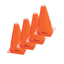 Precision Safety Football Rugby Training Traffic Marker Cones 9'' (Set of 4)