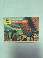 "VINTAGE - 1956 Topps Round Up Jesse James ""Daring Robbery"" #57"
