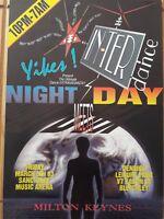 yikes meets interdance rave flyer from the sanctuary Milton Keynes 5.3.93