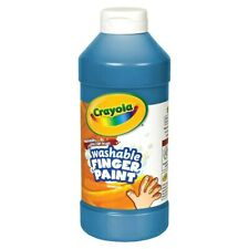 Crayola Washable Finger Paint - Blue (32 oz. Plastic Jar)
