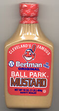 Cleveland's Famous Bertman Original Ball Park Mustard 16 oz Safety Sealed Bottle