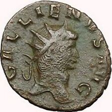 GALLIENUS son of Valerian I  Ancient Roman Coin PEACE  Goddess Cult  i33935