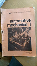 AUTOMOTIVE MECHANICS 1-assignments 1-4 book 1 dept of further education s.a.