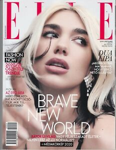 DUA    LIPA   ,  MICHAELA   COEL  Hungarian,magazine 2020