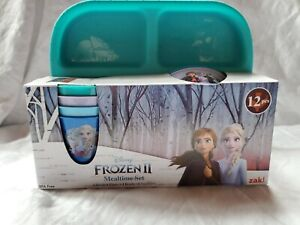 Disney Frozen 2 Mealtime Set 12 Piece- BNIB made by Zaktive Kids Desighns