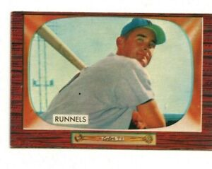 1955 Bowman Set Break #255 Pete Runnels EX+/EX-MT