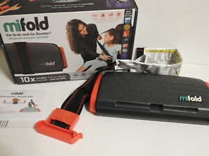 Mifold MF01-US Grab and Go Booster Seat - Slate Gray
