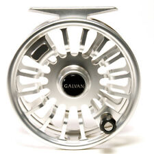 Galvan Torque T-4 Fly Reel Clear - NEW - FREE FLY LINE