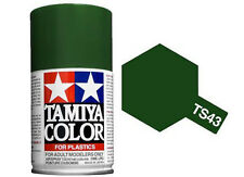 Tamiya 85043. Spray TS-43. Pintura esmalte color Verde Competicion