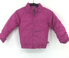 Burton Coat Girls Size 5-6 Fuchsia Pink Winter Zipper Front