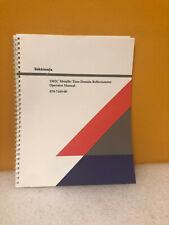 Tektronix 070-7169-00 1502C Time Reflectometer Operator Manual