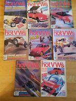 Eight 1984 Dune Buggies and Hot VWs Magazine Volkswagen Beetle type 2 bug van