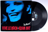 "Adam Ant - Vive Le Rock Re-mixed (1985) Vinyl 12"" Single • PROMO •"