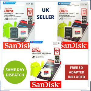 SanDisk 32/64/128GB Micro SD CARD for MOTOROLA Moto E4, e4 E5, E5 Play, E5 E6
