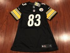 Nike Women's Heath Miller Pittsburgh Steelers Football Jersey Small S