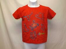 New Silly Bandz Kids Sizes 6/7-8 Red Shirt