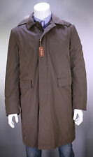 NWT New * LORO PIANA * Storm System Brown Long Parka Fox Fur Hooded Jacket XL