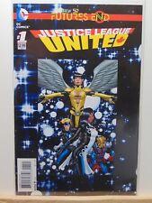 Justice League United #1 Futures End  D.C. Universe Comics CB4389