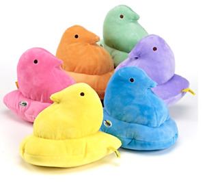PEEPS Chick Plush 9 Inch NWT Blue Orange Pink Green You Choose