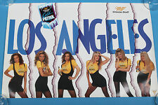 "Miller Genuine Draft beer poster Los Angeles Cold Patrol 20""x30"" Miller Girls"