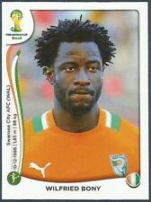 PANINI WORLD CUP 2014 #222-COTE D/'IVOIRE-IVORY COAST TEAM BADGE-SILVER FOIL