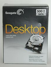 Seagate 500GB SATA Desktop Internal Hard Disk Drive New Sealed