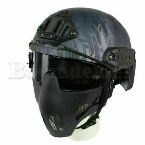 Paintball Airsoft Brille UV400Schutz Goggles Eye Safety Glasses 3Lens