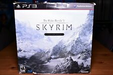 The Elder Scrolls V Skyrim Collector's Edition PS3 Complete in Box