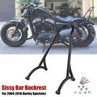 Motorrad Rückenlehne Sissybar für Harley Sportster XL Iron Nightster 883 1200