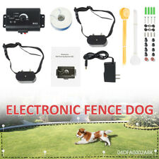 New Electric Dog Pet Fence Shock Collars Fence System For 2 Dogs