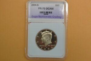 2004-S  Kennedy CLAD Half Dollar