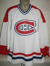 NHL MONTREAL CANADIENS CCM ICE HOCKEY JERSEY MENS SIZE XL