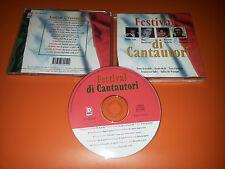 CD FESTIVAL DI CANTAUTORI - SOLO DI BELLA VECCHIONI