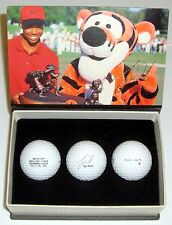 Tiger Woods 1996 2nd Victory Commemorative Series Golf Ball Set & 6 Extra Balls